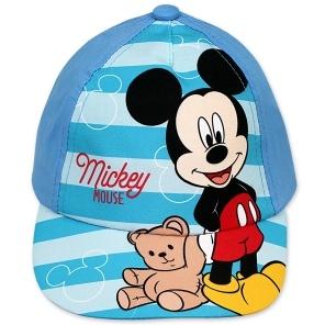 Fotografie Dětská chlapecká kšiltovka Setino Mickey modrá, vel. 50