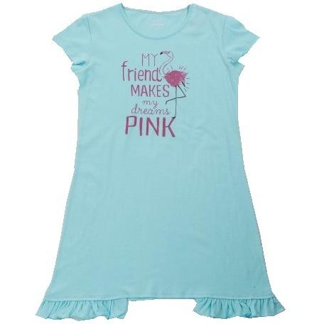 Dětská dívčí noční košile Wolf S2882 modrá 152 14c38bb345