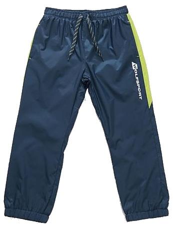 Dětské šusťákové kalhoty Wolf T2851 petrolejové, vel. 110